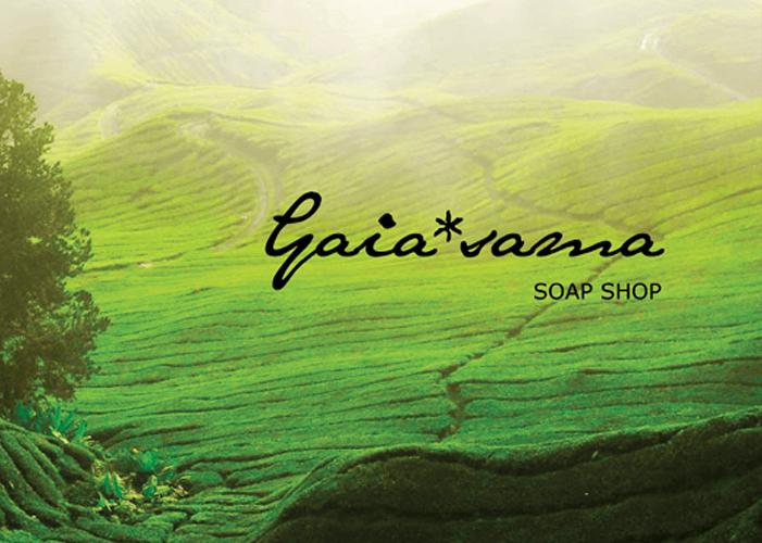 Gaiasama手工皂購物網站